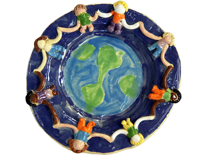 Children of the World Plate