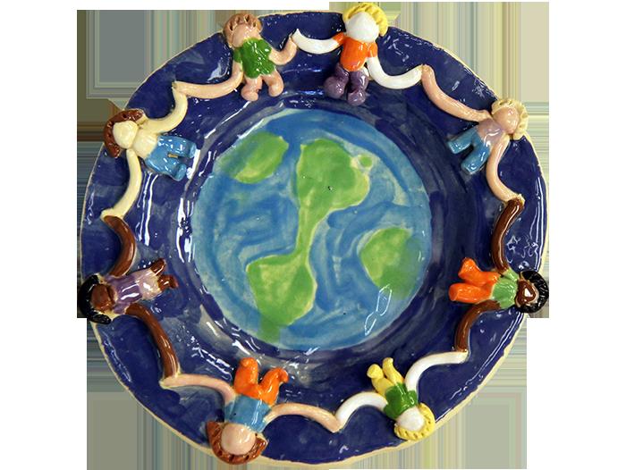 Children of the World Plate