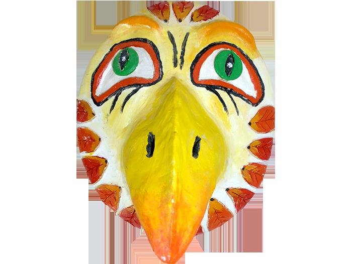 Inuit Mask Eagle