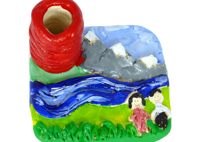 Landscape Pencil Holder