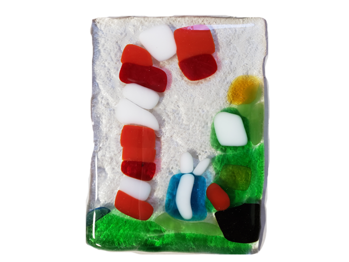 Christmas Theme – Fused Glass