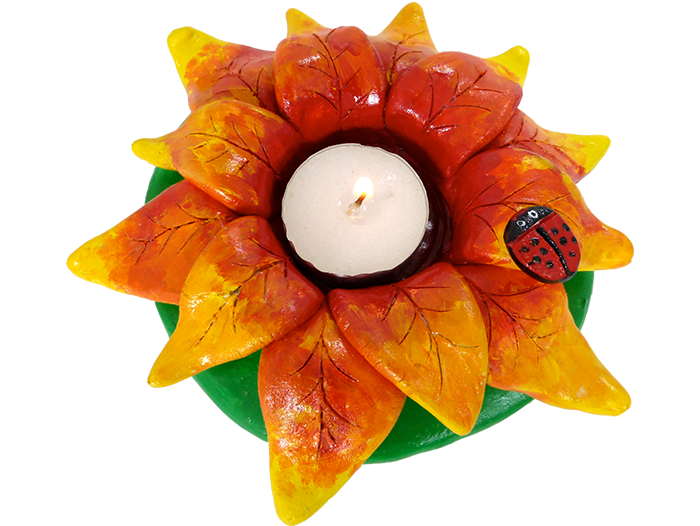 Flower Tea Light
