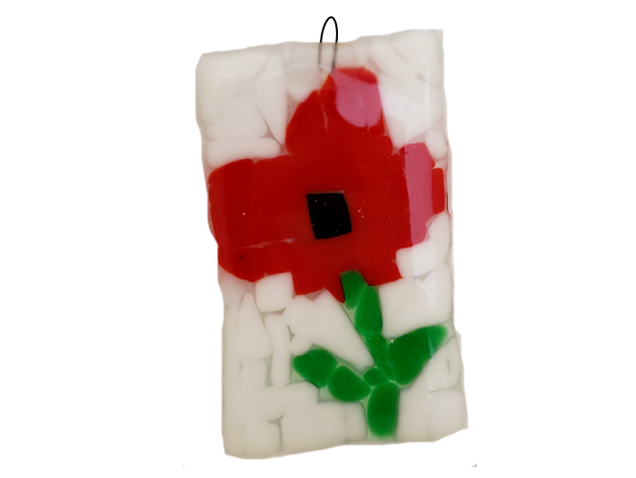 Flowers – Fused Glass