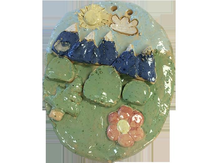 Nature Scene Plaque – Oval