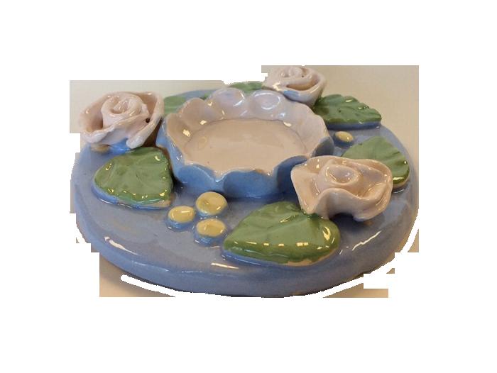 Monet's Lily Inspired Tea Light